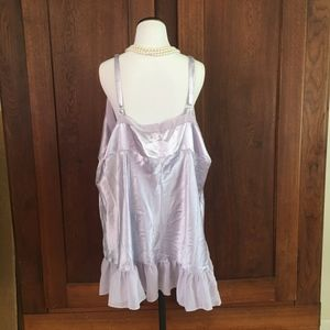 Cacique Intimates & Sleepwear - Size 26/28 Cacique Lavender Nightgown Chemise